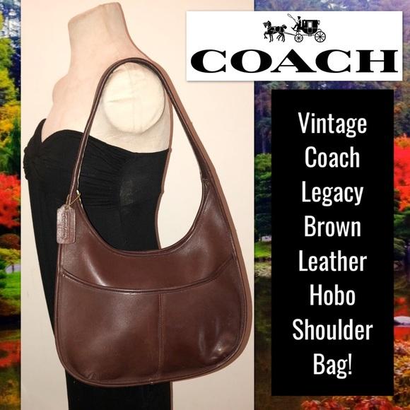f5ee6b89e1 Coach Handbags - Vintage Coach Legacy Leather Hobo Shoulder Bag!